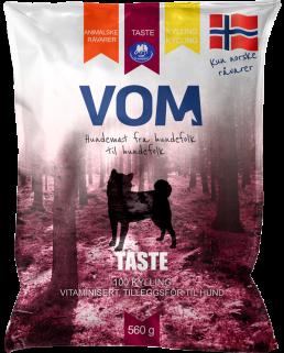 VOM og hundemat Taste